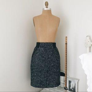 Halogen Tweed Skirt